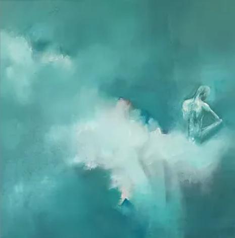 Exposition de peintures à l'huile sur le thème de la danse, Alexandra Van Lierde